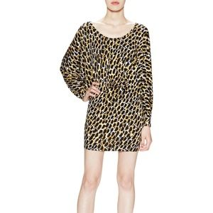 RACHEL PALLY Yarrow Python Sable Blouson Dress